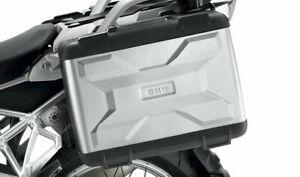 ORIGINAL BMW Motorrad Variokoffer-Set Silber R1200GS R1250GS + Schließzylinder