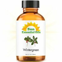 Best Wintergreen Essential Oil 100% Purely Natural Therapeutic Grade 2oz
