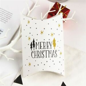 Christmas Candy Cookie Box Xmas Deer Gift Bags Xmas Small Present Pouch Biscuit