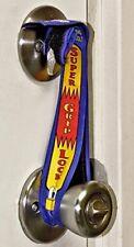 "Super Grip Door Lock Deadbolt Strap Accessory / Portable Travel Lock Strap (19"")"