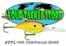Storm Arashi Deep 25 90mm – Hot Chartreuse Shad - Bass Cod Perch Fishing Lure