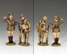 KING AND COUNTRY WW1 Capt. Edmund Blackadder & Pvt. Baldrick FW226