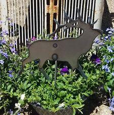 Metal Elk Garden Stake