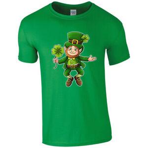 St Patrick's Day Irish Ireland Leprechaun T-shirt T shirt Men Women Unisex 3386