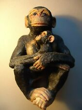 Realistic heavy  Chimpanzee  ornament