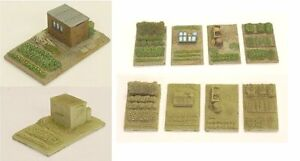 N Scale Allotment or Gardens (NS2 & NS3)