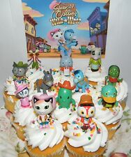 Disney Sheriff Callie's Wild West Cake Toppers Set of 13 Fun Deluxe Figures