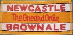 Newcastle Brown Ale Cotton Bar Towel   500mm x 250mm  (pp)
