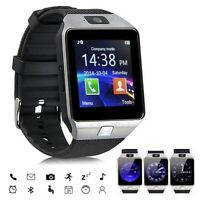 Bluetooth SmartWatch Sport Wristwatch Camera Pedometer for Android Samsung S9 S8