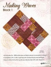 "Jo Ann ""Making Waves"" Quilt Block Kit  #1"