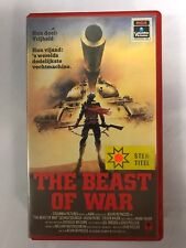 The Beast Of War Ex-Rental Vintage VHS Tape English  dutch subs