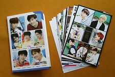 INFINITE Post Card 12 pcs + Sticker 3 pcs SET korea KPOP INFINITE Korean Gift