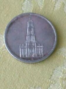 German Silver 5 Mark 1934 A Berlin