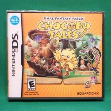 Final Fantasy Fables: Chocobo Tales (Nintendo DS, 2007) Factory Sealed NTSC US