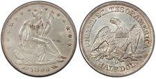 1855 O W/ARROWS SEATED HALF DOLLAR PCGS MS 63 CREAMY AND VERY ORIGINAL GEM