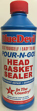 00209 Blue Devil Pour-N-Go Head Gasket Sealer - 16 Ounce #00209 Bars Leak