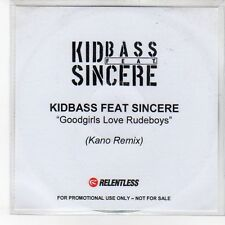 (EN997) Kid Bass Feat Sincere, Goodgirls Love Rudeboys - DJ CD