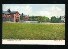 USA New York BUFFALO Fort Porter Barracks c1902 u/b PPC