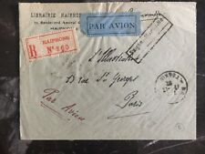 1932 Haiphong French Vietnam Cover To The Illustration In Paris France F