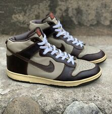 Nike Dunk High Premium Khaki Brown 306968 221 100% AUTHENTIC US men 11.5