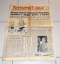 Tuttosport 15 luglio 1953 TOUR DE FRANCE Jean Robic Luchon Edizione Carlin