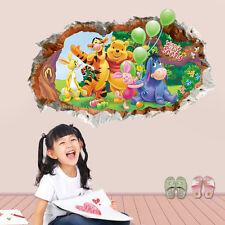 Winnie the Pooh Rimovibile Adesivo Da Parete Decorazione Adesiva In Vinile