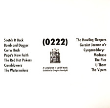 V/A ‎- (0222): A COMPILATION OF CARDIFF BANDS (LP) (VG/VG-)