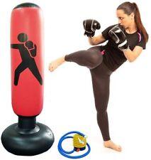 Himifuture - Saco de boxeo hinchable de 160 cm, con soporte, para fitness,