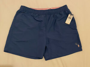 Polo Ralph Lauren Blue Men's Shorts/Swim Shorts X-Large Brand New With Tags