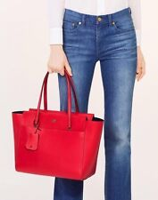 NWT Tory Burch Women's Red Parker Tote