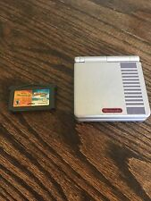 Gameboy Advance SP NES Edition With Shriek Game No Charger PC4