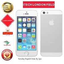 Apple iPhone 5s - 16GB-argento (sbloccato) condizione garde buona condizione +12 mesi mandato