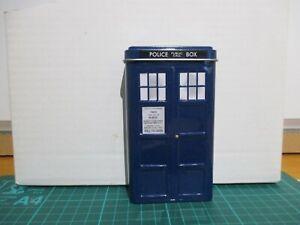 Doctor Who TARDIS, Police Box,  Business Card, money  , Small pens Tin