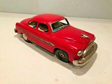 Vintage Bandai Tin Friction Japan Car red - rare hardtop
