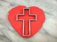 Christian Cross Cookie Cutter CHOOSE YOUR OWN SIZE! #1