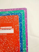 Mead Marble Composition Notebook Wide Ruled Assorted Colors