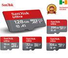 Sandisk Micro SD Card 16gb 32gb 64gb 128gb TF Class 10 High Speed A1 Irish stock