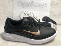 NIKE Vapor Golf Shoes Black/White/Bronze Women's Size 6.5 AQ2324 001 MSRP $70
