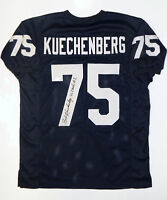Bob Kuechenberg Autographed Navy Blue College Style Jersey- JSA W Authenticated