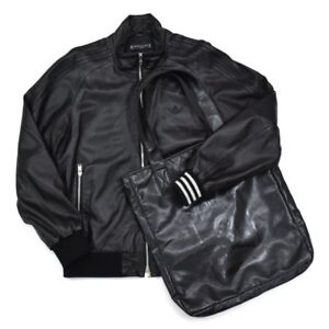 Adidas X Mastermind Japan Leather Jacket Tracktop