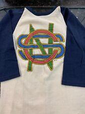 Vintage Crosby Stills and Nash T-shirt 1970s