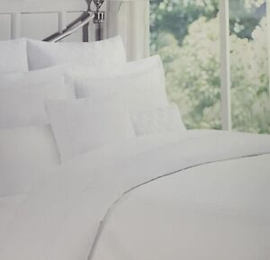 Duvet cover Set white Queen /Full 3PCS Sateen Hotel Collection Home Bedding Sale