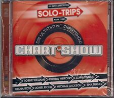2 CD Chartshow `Solo-Trips` Neu/OVP John Lennon,Freddie Mercury,Peter Fox ,Cher
