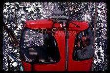 Big Sky Montana Red Gondola Ski Lift Rossignol Skis Spring 80s 1982 35mm Slide
