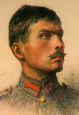 The Allied Armies Czechoslovak Army WWI Etching Eugene Burnand 1922