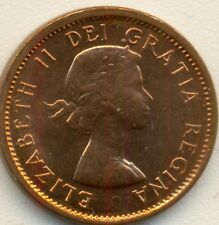 1964 CANADA SMALL CENT, CHOICE BRILLIANT UNCIRCULATED RED, GREAT PRICE!