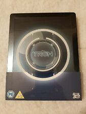 TRON Legacy (First Print) STEELBOOK 3D Blu Ray UK Disney SOLD OUT Limited SEALED