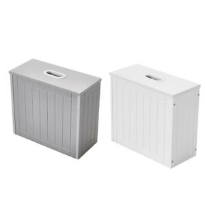 Panana WOODEN TOILET CLEANING PRODUCTS STORAGE BOX TIDY UNIT BATHROOM