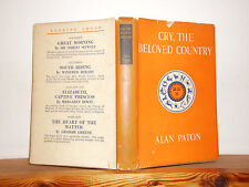 Cry the Beloved Country by Alan Paton HB in DW 1949 Reprint Society