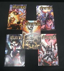 """The Amory Wars """"The Second Stage Turbine Blade"""" Comics Complete Series"""